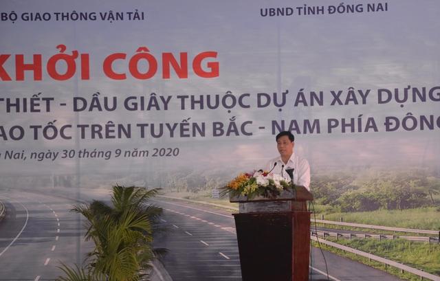 Phó Thủ tướng nhấn nút khởi công dự án cao tốc Phan Thiết - Dầu Giây - 2