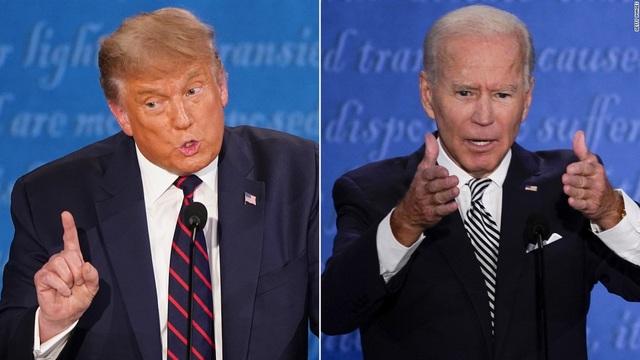 Ông Biden bỏ xa ông Trump trong thăm dò - 1