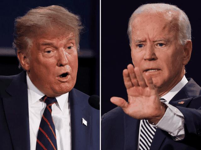 """Ông Trump nói """"thắng"""" Biden trong """"hiệp đấu"""" đầu tiên - 1"""