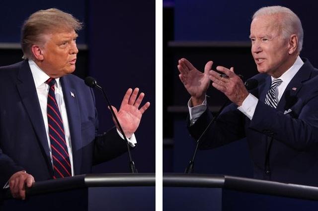 Tranh cãi việc ông Trump chọn khung giờ lên hình trùng của ông Biden - 1