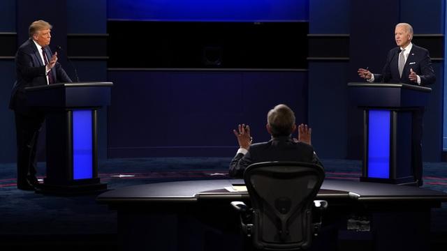 Ông Trump xuất viện, tuyên bố trở lại đường đua với Biden - 2