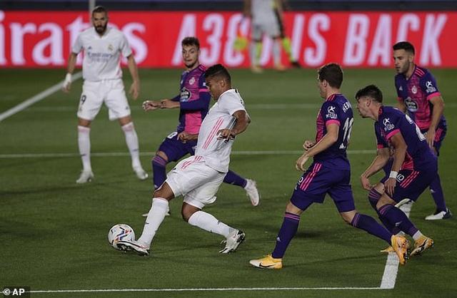 Real Madrid nhọc nhằn giành chiến thắng thứ 2 tại La Liga - 1