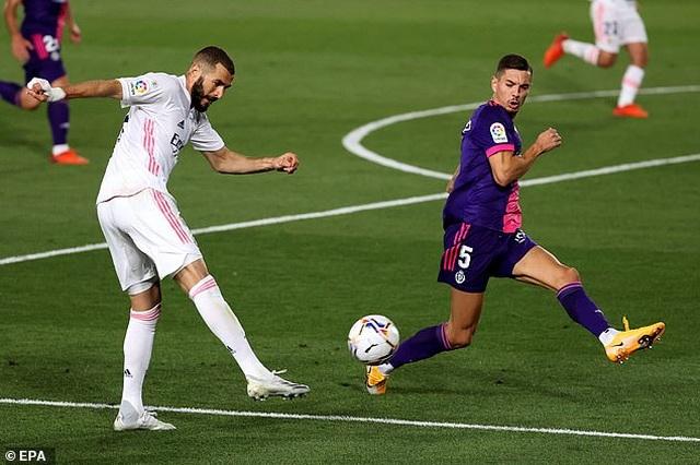 Real Madrid nhọc nhằn giành chiến thắng thứ 2 tại La Liga - 2
