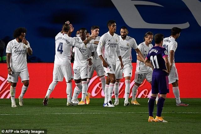 Real Madrid nhọc nhằn giành chiến thắng thứ 2 tại La Liga - 8