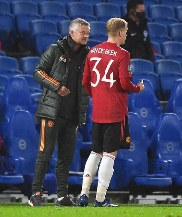 Những khoảnh khắc Man Utd tiếp tục khiến Brighton ôm hận - 6