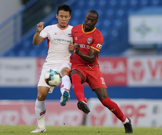 Thua B.Bình Dương, CLB Viettel mất cơ hội lên ngôi đầu bảng V-League - 2