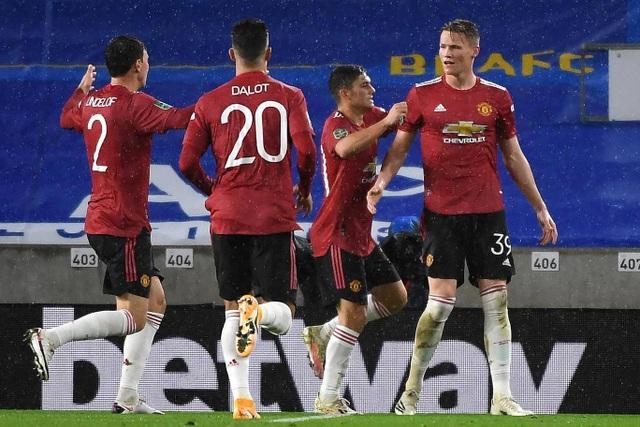 Những khoảnh khắc Man Utd tiếp tục khiến Brighton ôm hận - 8