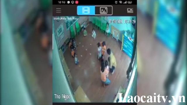 Công an điều tra người đàn ông hành hung cháu bé 2 tuổi ở trường mầm non - 1