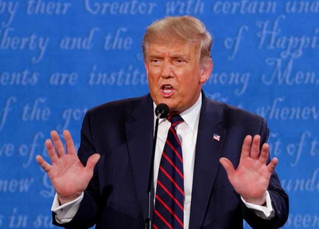 Đảng Cộng hòa lo ông Trump bỏ lỡ cơ hội vàng trong tranh luận với Biden - 1