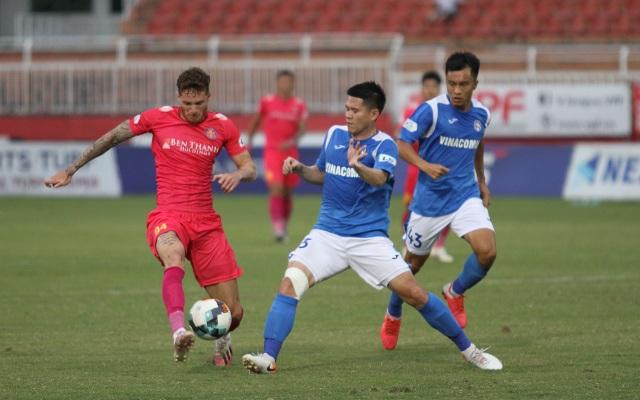 Sài Gòn FC vô địch giai đoạn 1 V-League 2020 - 2