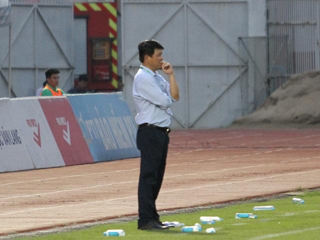 HLV Vũ Tiến Thành nói gì về ngôi vô địch giai đoạn 1 của Sài Gòn FC? - 1