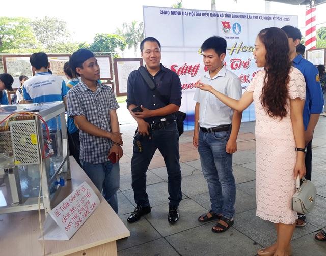 Bình Định: Nhiều ý tưởng sáng tạo khởi nghiệp trong sinh viên - 2