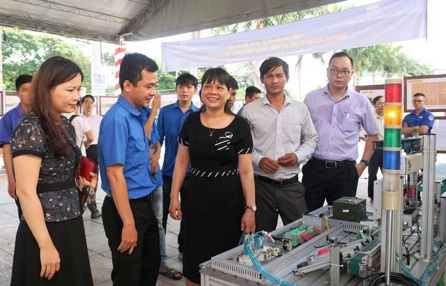 Bình Định: Nhiều ý tưởng sáng tạo khởi nghiệp trong sinh viên - 1