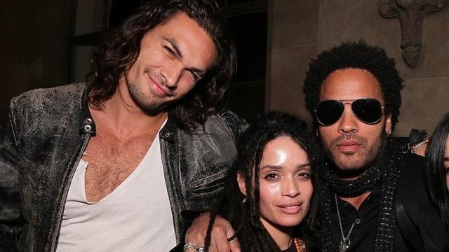 Lenny Kravitz vẫn thân thiết với vợ cũ và chồng mới của vợ - 1