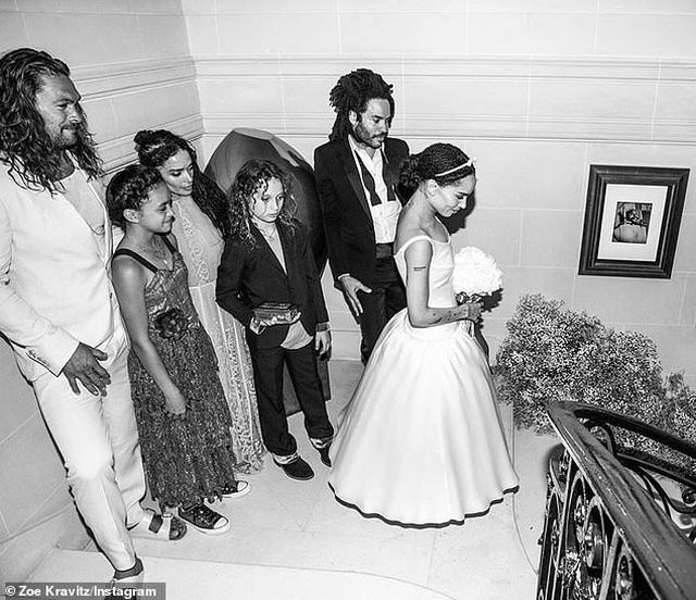 Lenny Kravitz vẫn thân thiết với vợ cũ và chồng mới của vợ - 3