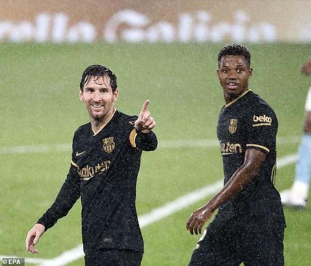 Messi ghi dấu ấn, Barcelona tiếp tục thắng đậm ở La Liga - 5