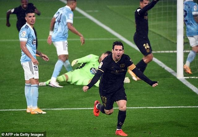 Messi ghi dấu ấn, Barcelona tiếp tục thắng đậm ở La Liga - 3