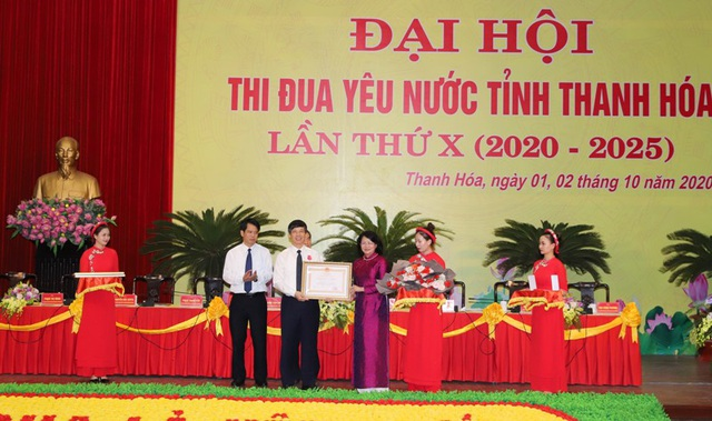 Phó Chủ tịch nước dự đại hội thi đua yêu nước tỉnh Thanh Hóa - 5