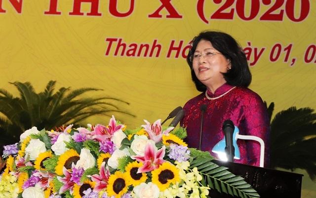 Phó Chủ tịch nước dự đại hội thi đua yêu nước tỉnh Thanh Hóa - 3