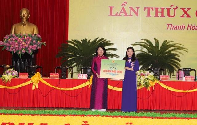 Phó Chủ tịch nước dự đại hội thi đua yêu nước tỉnh Thanh Hóa - 4