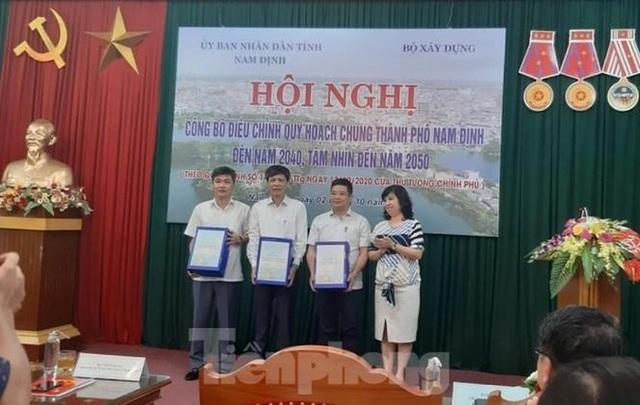 Điều chỉnh quy hoạch thành phố Nam Định, lấy sông Đào làm trục trung tâm