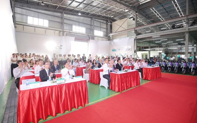 Tập đoàn Sơn Hà tổ chức lễ khánh thành nhà máy sản xuất xe điện EVgo tại Bắc Ninh - 1
