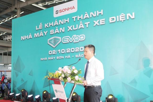 Tập đoàn Sơn Hà tổ chức lễ khánh thành nhà máy sản xuất xe điện EVgo tại Bắc Ninh - 2