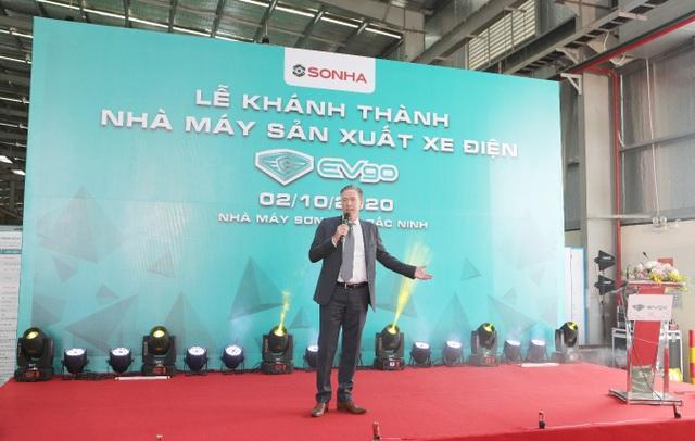 Tập đoàn Sơn Hà tổ chức lễ khánh thành nhà máy sản xuất xe điện EVgo tại Bắc Ninh - 5