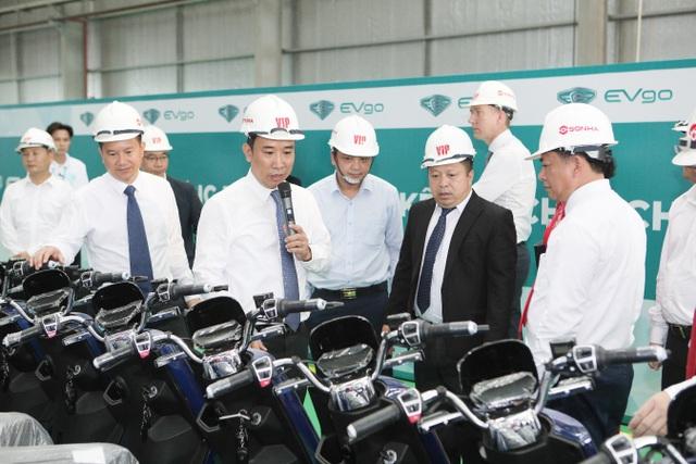 Tập đoàn Sơn Hà tổ chức lễ khánh thành nhà máy sản xuất xe điện EVgo tại Bắc Ninh - 7