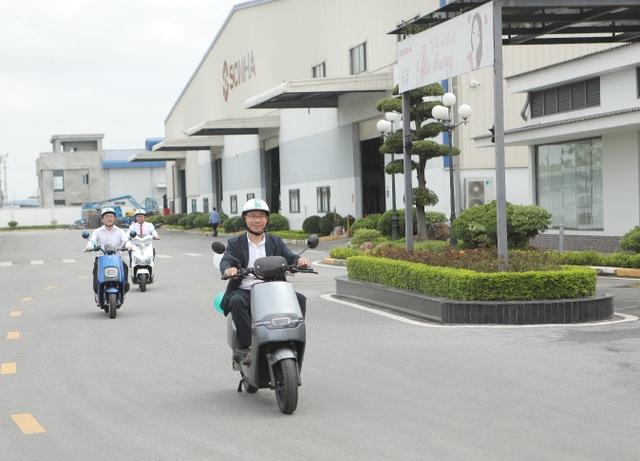 Tập đoàn Sơn Hà tổ chức lễ khánh thành nhà máy sản xuất xe điện EVgo tại Bắc Ninh - 8