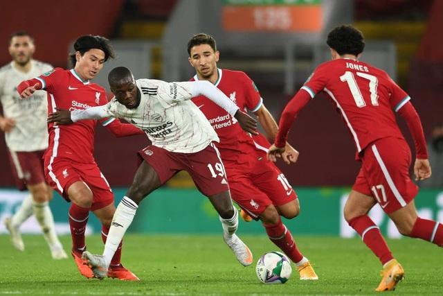 Arsenal đánh bại Liverpool ở loạt sút luân lưu - 4