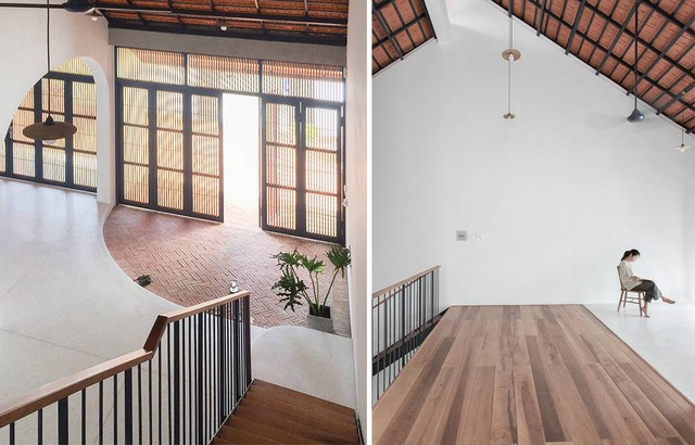 """Nhà 3 tầng chỉ nhìn thấy mái """"càng khám phá, càng bất ngờ"""" ở Sài Gòn - 8"""