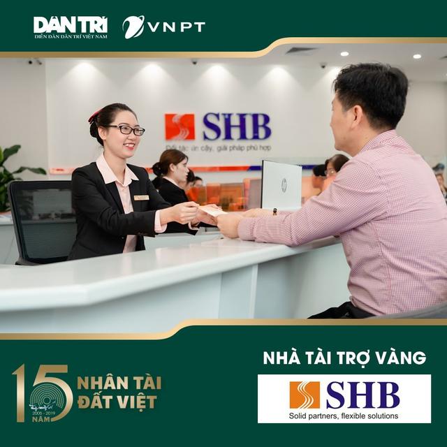 SHB là Nhà tài trợ vàng giải thưởng Nhân tài Đất Việt 2019 - 1