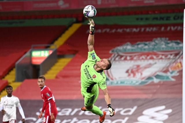 Arsenal đánh bại Liverpool ở loạt sút luân lưu - 1