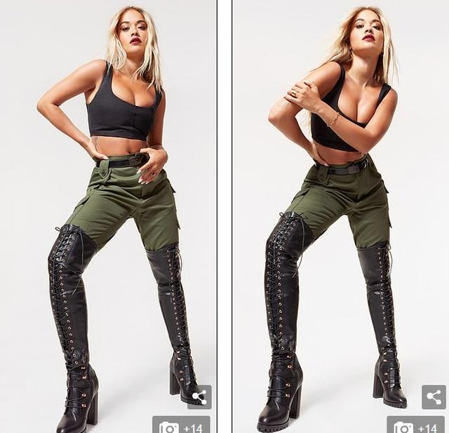 Rita Ora khoe vòng một bốc lửa - 2