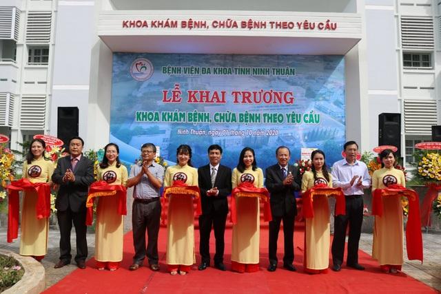 Ninh Thuận lần đầu tiên có khám bệnh, chữa bệnh theo yêu cầu - 1
