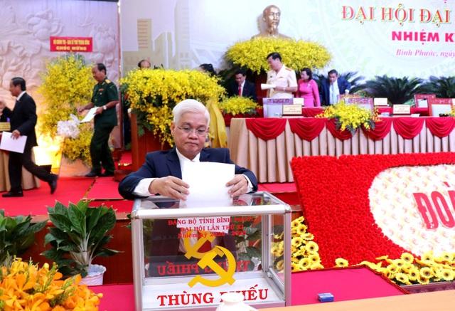 Ông Nguyễn Văn Lợi tái đắc cử Bí thư Tỉnh ủy Bình Phước - 1
