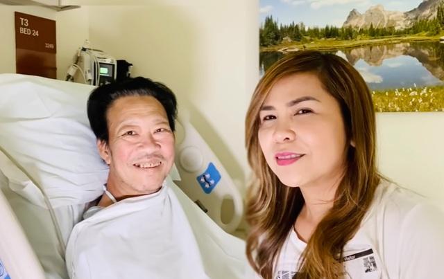 Nhạc sĩ Lê Quang phẫu thuật cắt chân do biến chứng tiểu đường - 1