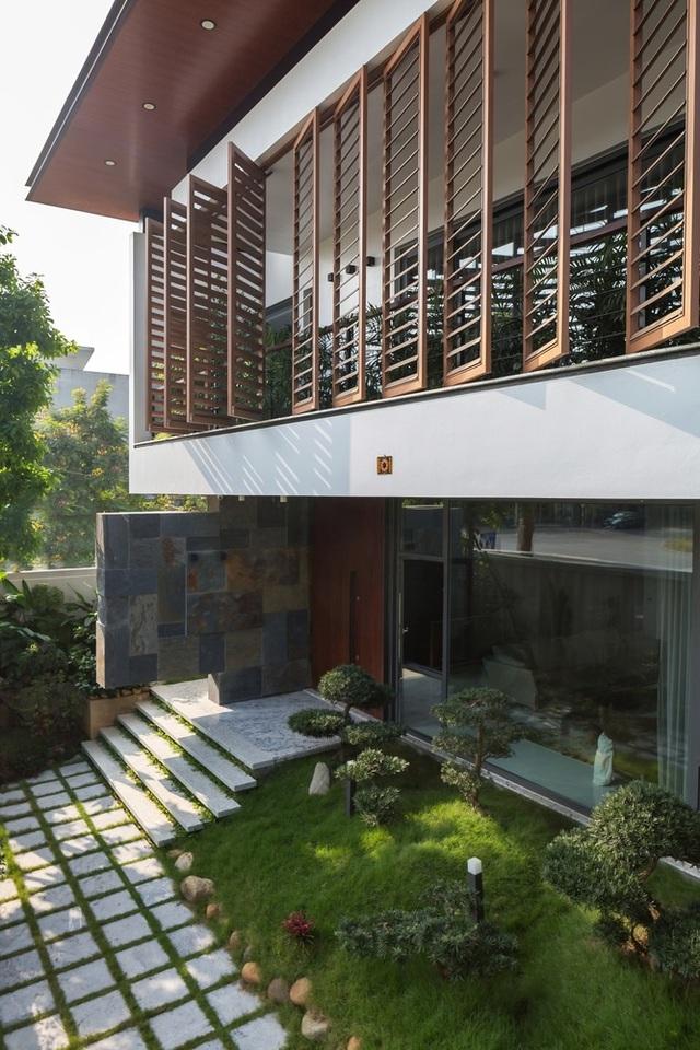 Cận cảnh ngôi nhà đẹp mộng mơ, tựa như thiên đường nghỉ dưỡng - 9