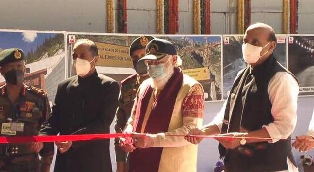 Ấn Độ thông hầm chuyển quân chiến lược tới gần biên giới Trung Quốc - 1