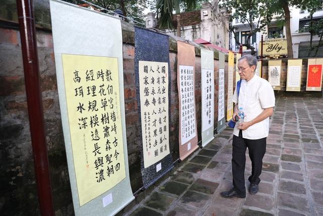 Trưng bày 100 bức thư pháp lấy cảm hứng từ Thăng Long - Hà Nội - 4
