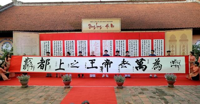 Trưng bày 100 bức thư pháp lấy cảm hứng từ Thăng Long - Hà Nội - 2