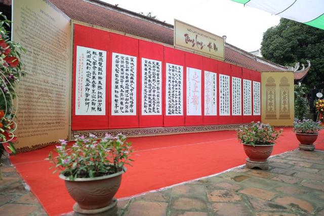 Trưng bày 100 bức thư pháp lấy cảm hứng từ Thăng Long - Hà Nội - 3