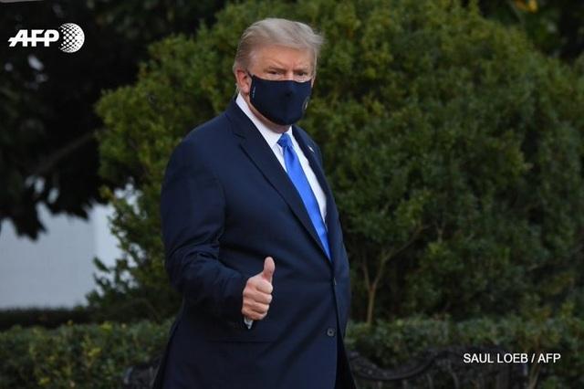 Ông Trump nhập viện điều trị Covid-19 - 1