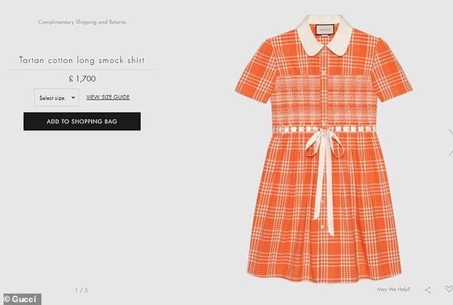 Váy áo thắt nơ cho... nam giới có giá hơn 50 triệu đồng - 5