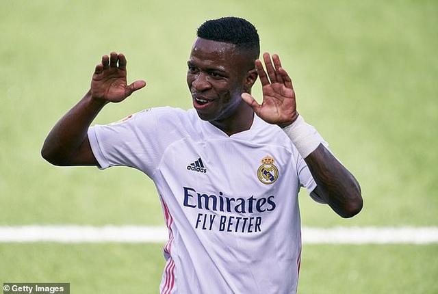 Real Madrid thắng trận thứ ba liên tiếp ở La Liga - 1