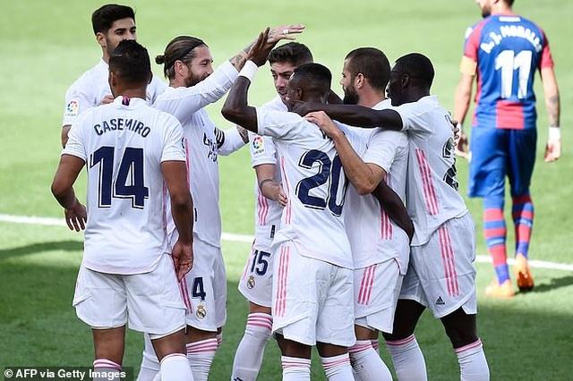 Real Madrid thắng trận thứ ba liên tiếp ở La Liga - 2
