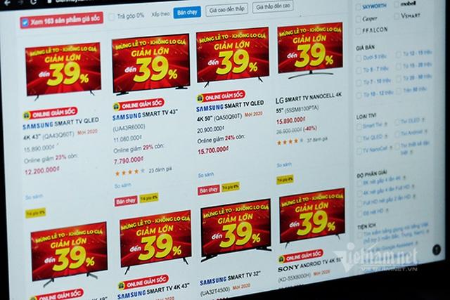 Tivi hạng sang màn hình rộng giảm giá mạnh chưa từng có - 1
