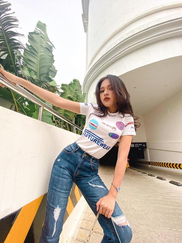 Khoe số đo 3 vòng như hoa hậu của cô nàng 10X Phú Yên - 5