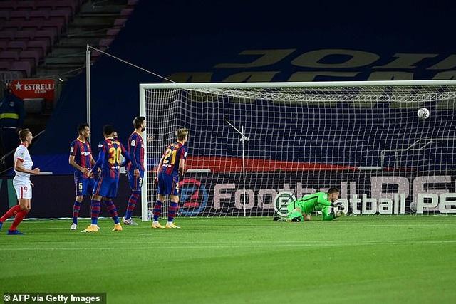 Messi nhạt nhòa, Barcelona đứt mạch toàn thắng ở La Liga - 1
